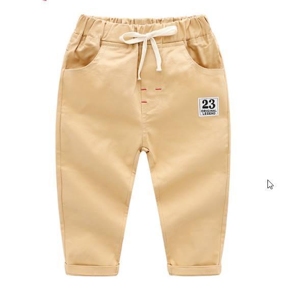 Котоновые брюки беж 110