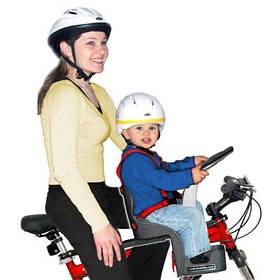 Велокресла для детских велосипедов