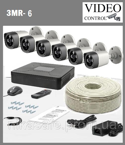 """Комплект видеонаблюдения 3G-SDI """"3MR-6"""" (2048x1536)"""