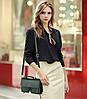 Модная женская сумка сундук с брелком, фото 2