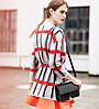 Модная женская сумка сундук с брелком, фото 4