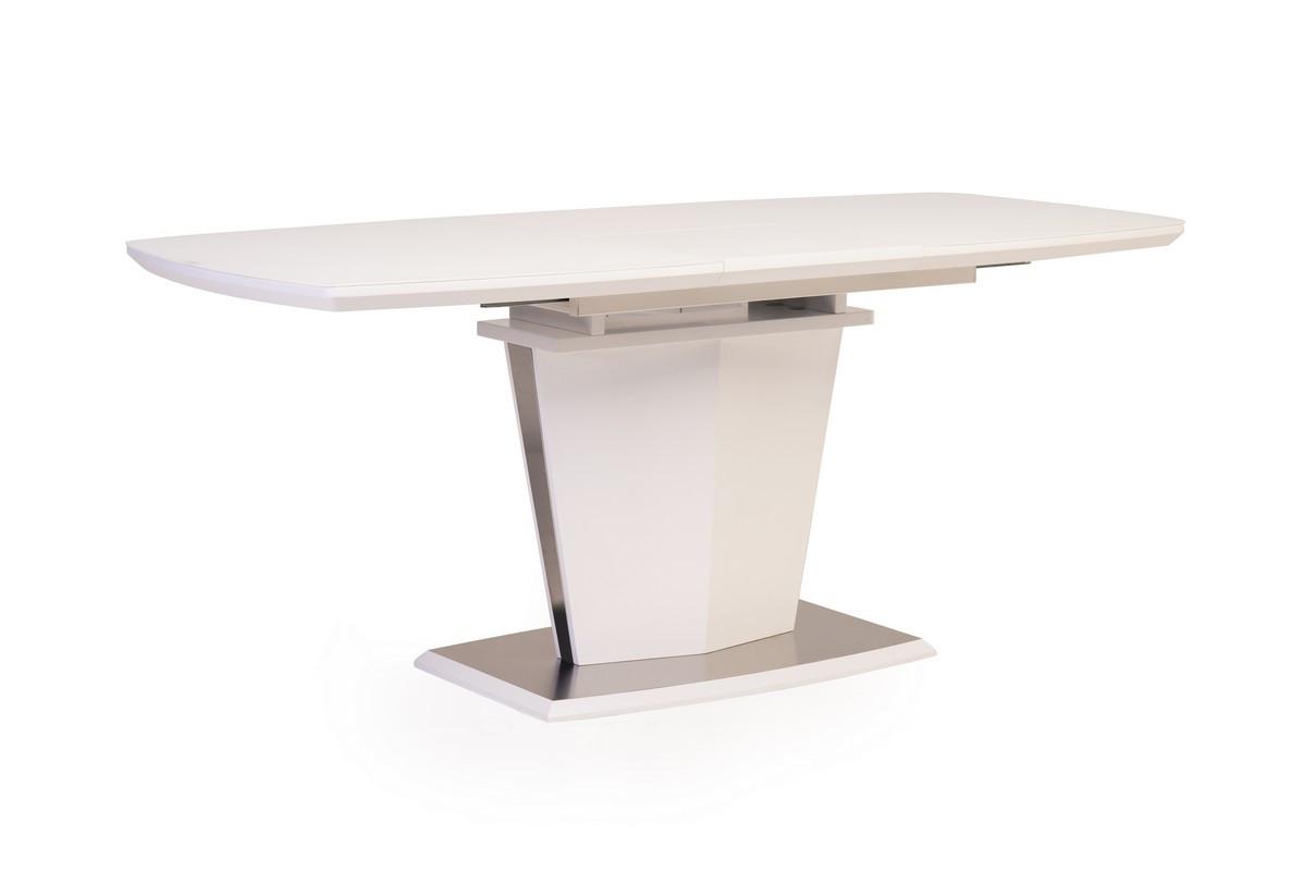 Раздвижной стол ТМL-700 матовый белый Vetro Mebel 140/180 (бесплатная доставка)