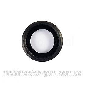 Стекло камеры на iPhone 6S черное