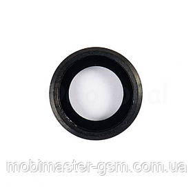 Стекло камеры на iPhone 6S Plus черное