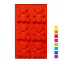"""Форма силиконовая для печенья """"БАРНИ"""" 6шт на листе 31*18*2.2cm XY-C1140"""