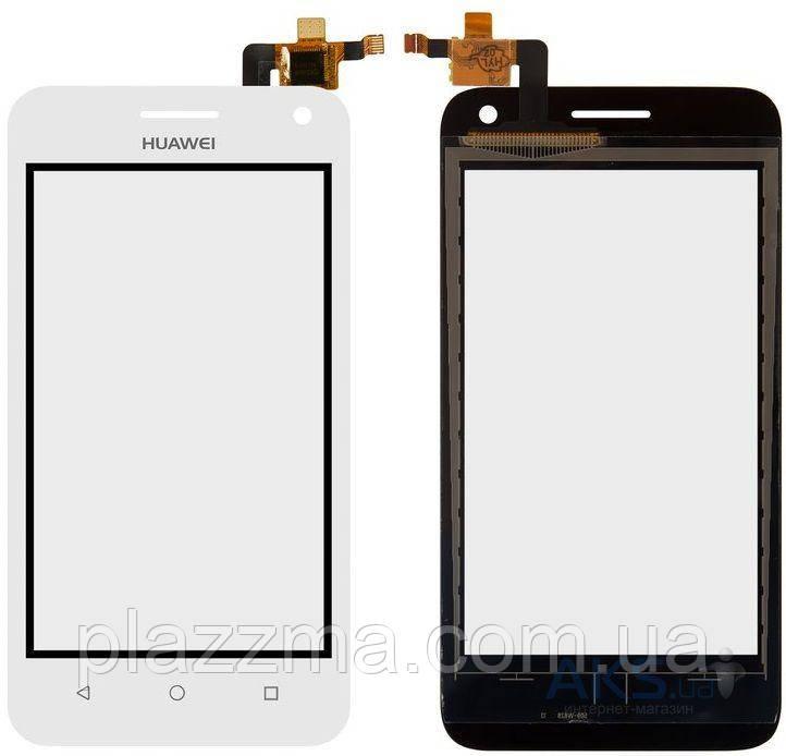 Тачскрин (сенсор) Huawei Ascend Y3c, Y336-U02, БЕЛЫЙ