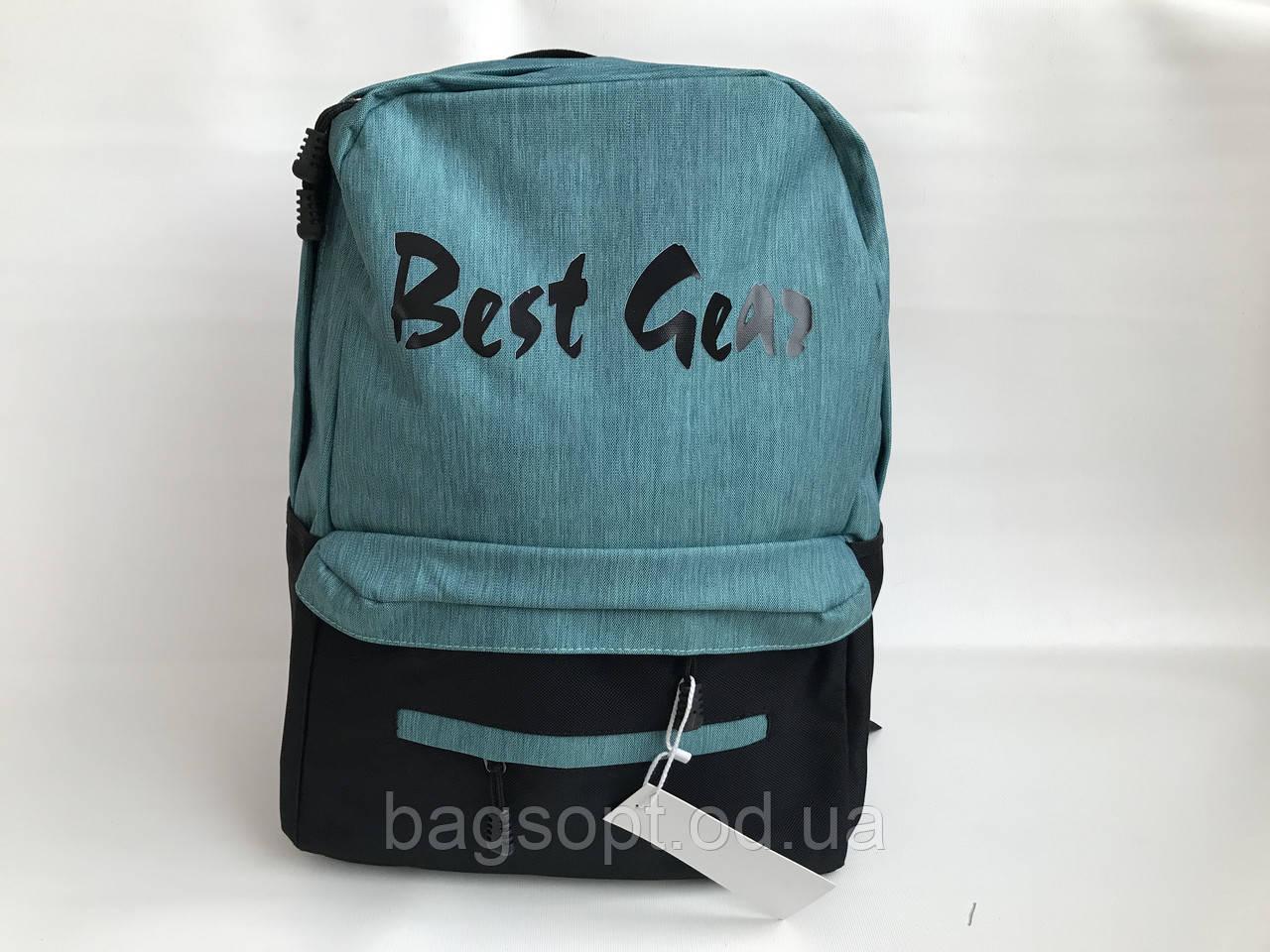 Рюкзак из ткани спортивный молодежный с карманом для ноутбука 15,6 Одесса 7 км