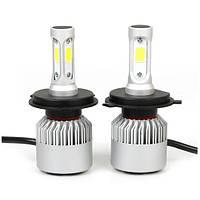 Комплект LED ламп YHKOMS H4 48W 8000LM 6500 К 12V с вентиляторами