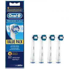Змінні насадки для електричної зубної щітки Oral-B Precision Clean EB20 4 шт