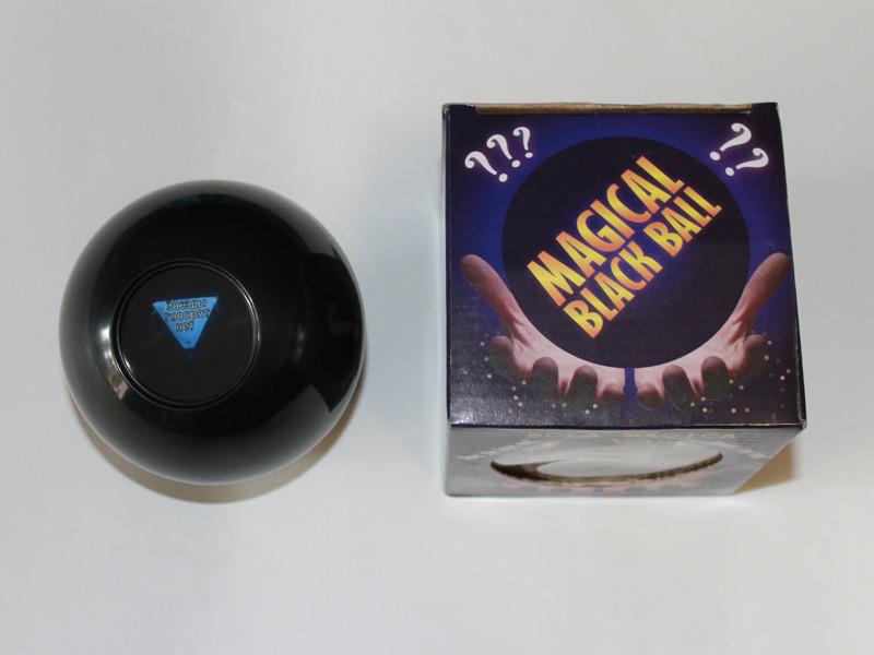 Шар Предсказатель Magic ball 8 большой 10 см