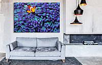 Картина Рыбка, Печать на холсте
