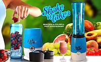 Блендер шейкер для коктейлей и смузи Shake Take 3