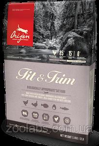 Сухой корм Orijen для котов с лишним весом   Orijen Fit & Trim 5,4 кг