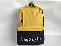 Рюкзак текстильный спортивный школьный Одесса 7км, фото 1