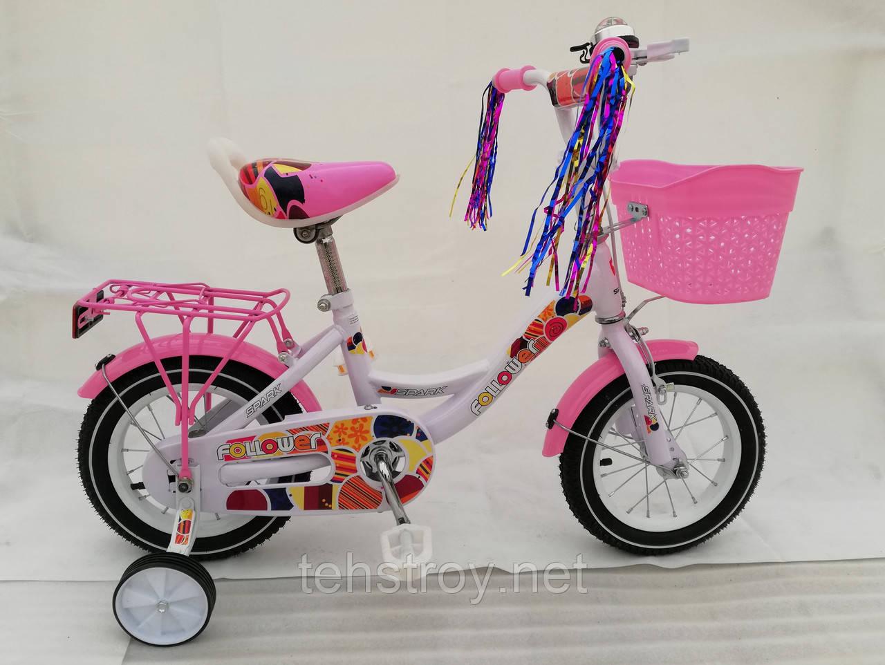 "12"" Велосипед SPARK KIDS FOLLOWER сталь TV1201-003"