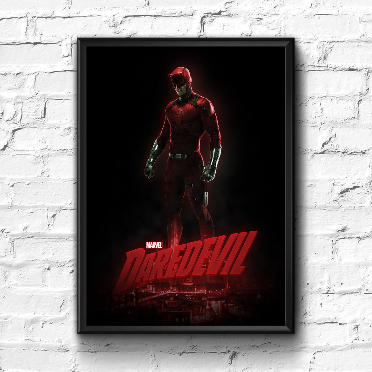 Постер с рамкой Daredevil, Marvel #1