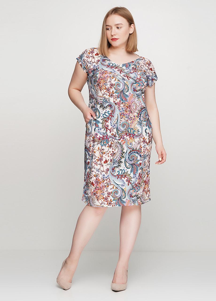 Женское легкое платье с карманами