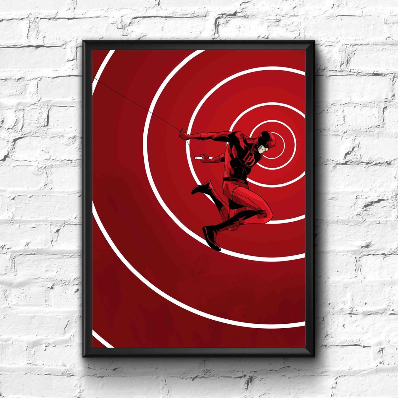 Постер с рамкой Daredevil, Marvel #2