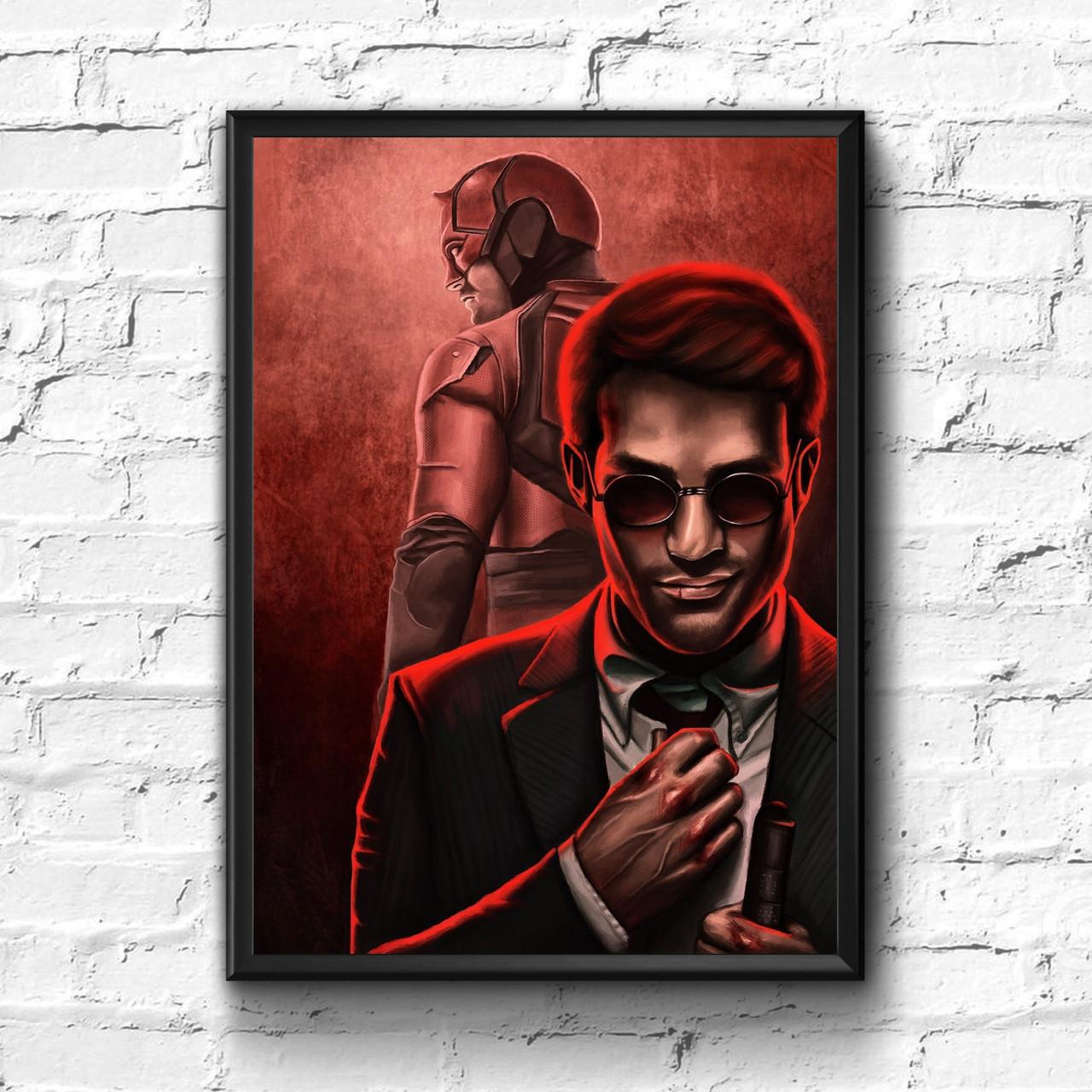 Постер с рамкой Daredevil, Marvel #7