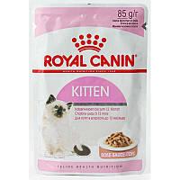 Влажный корм Royal Canin Kitten Instinctive для котят (в соусе), 0,085КГ 12шт