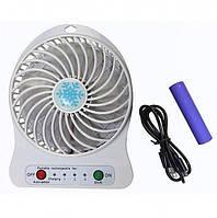 Вентилятор аккумуляторный настольный Plymex F002