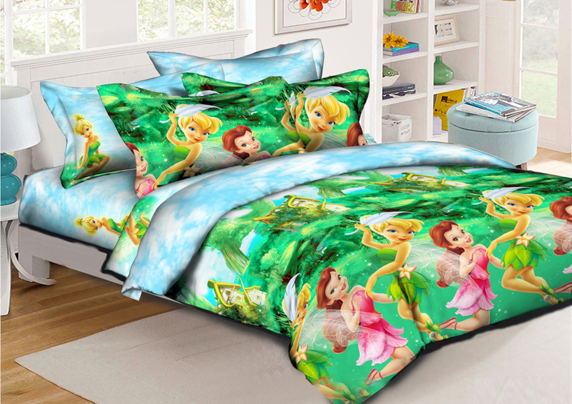 Детский комплект постельного белья 150*220 хлопок (11942) TM KRISPOL Украина