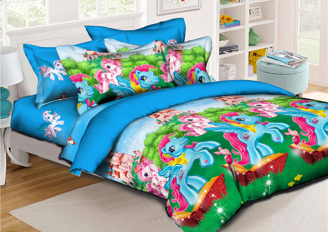 Детский комплект постельного белья 150*220 хлопок (11941) TM KRISPOL Украина