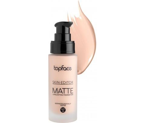 Тональная основа Topface Skin Editor Matte PT465