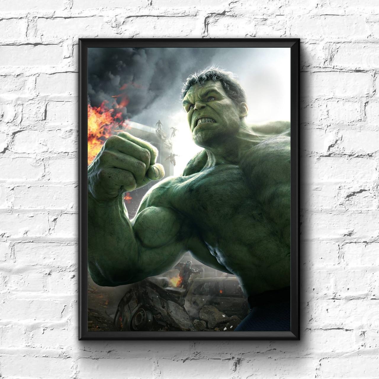 Постер с рамкой Hulk, Marvel #1