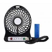 Вентилятор аккумуляторный настольный Plymex F002 , фото 1