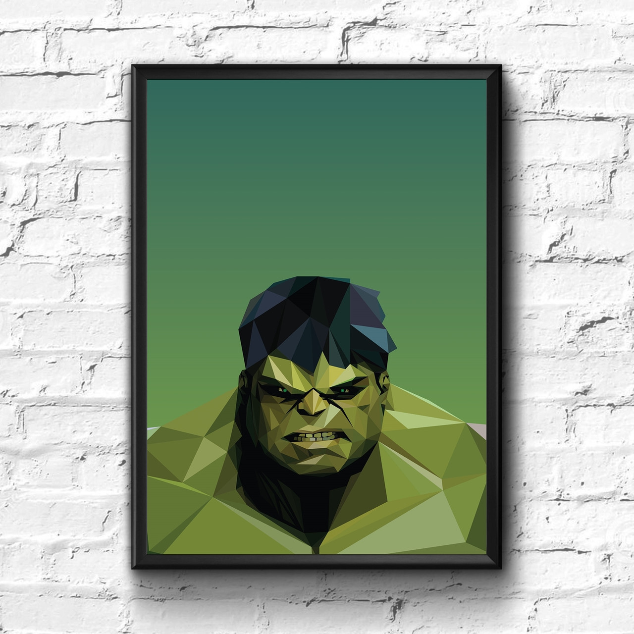 Постер с рамкой Hulk, Marvel #2