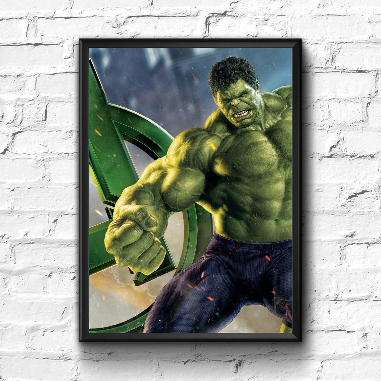 Постер с рамкой Hulk, Marvel #4
