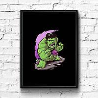 Постер с рамкой Hulk, Marvel #7