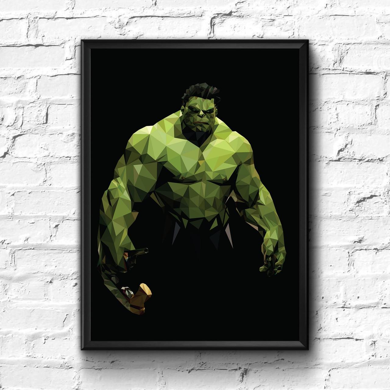 Постер с рамкой Hulk, Marvel #8