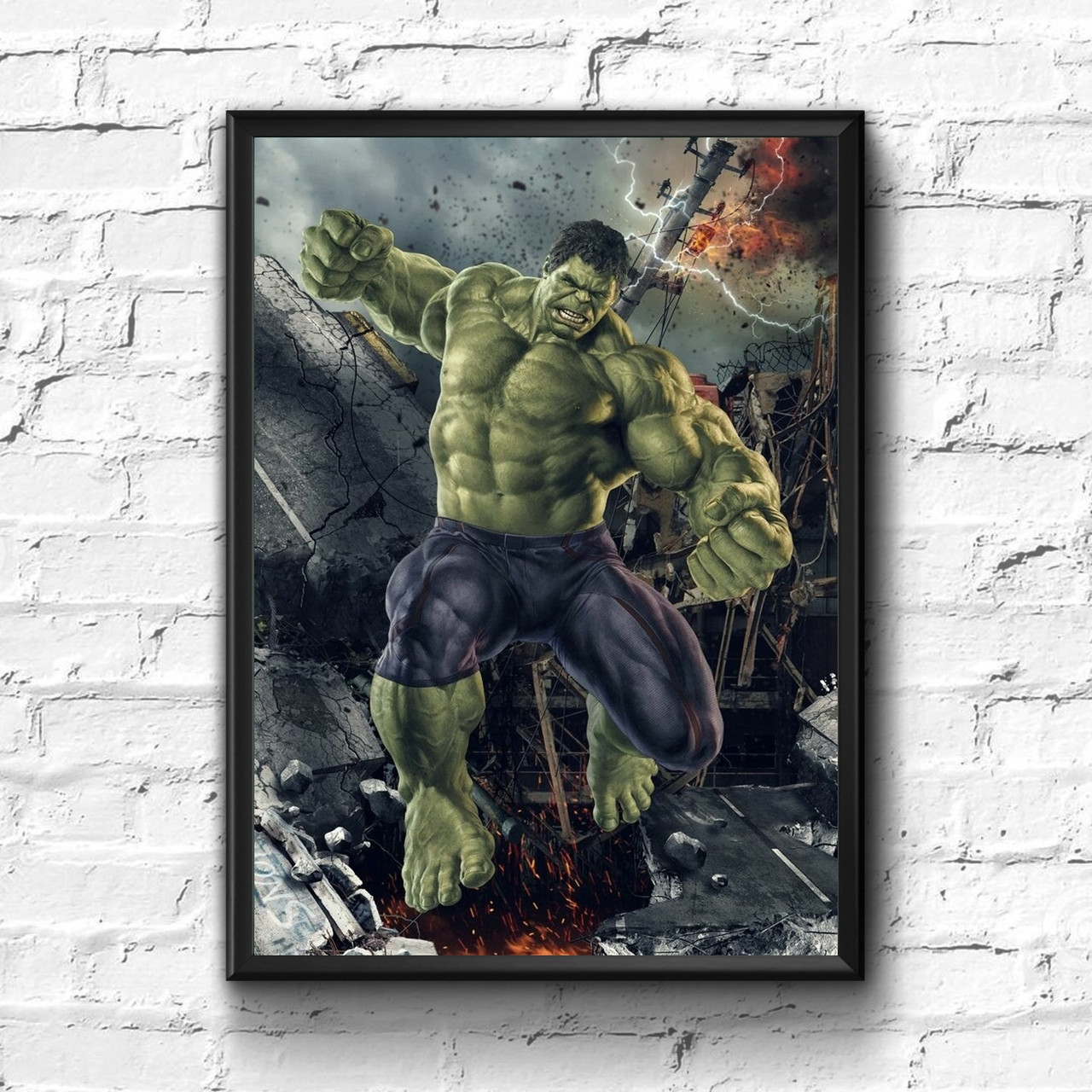 Постер с рамкой Hulk, Marvel #9