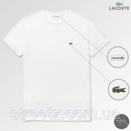 Классическая тенниска Lacoste, фото 2