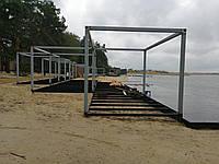 Изготовление береговых площадок и пергол, фото 1