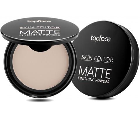 Пудра компактная Topface Skin Editor Matte PT263