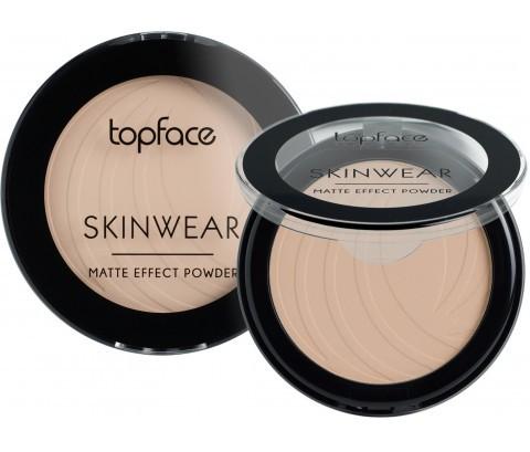 Пудра компактная Topface Skin Wear Matte Effect PT265