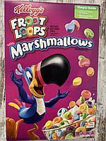 Сухой завтрак Kellogg's Froot Loops цветные колечки с маршмэллоу