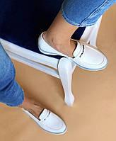 Туфли женские кожаные Carlo Pachini белые, фото 1