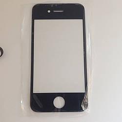 Стекло корпуса для Apple iphone 4,4s Black