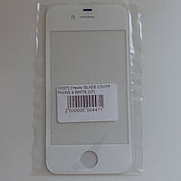 Стекло корпуса для Apple iPhone 4,4s white
