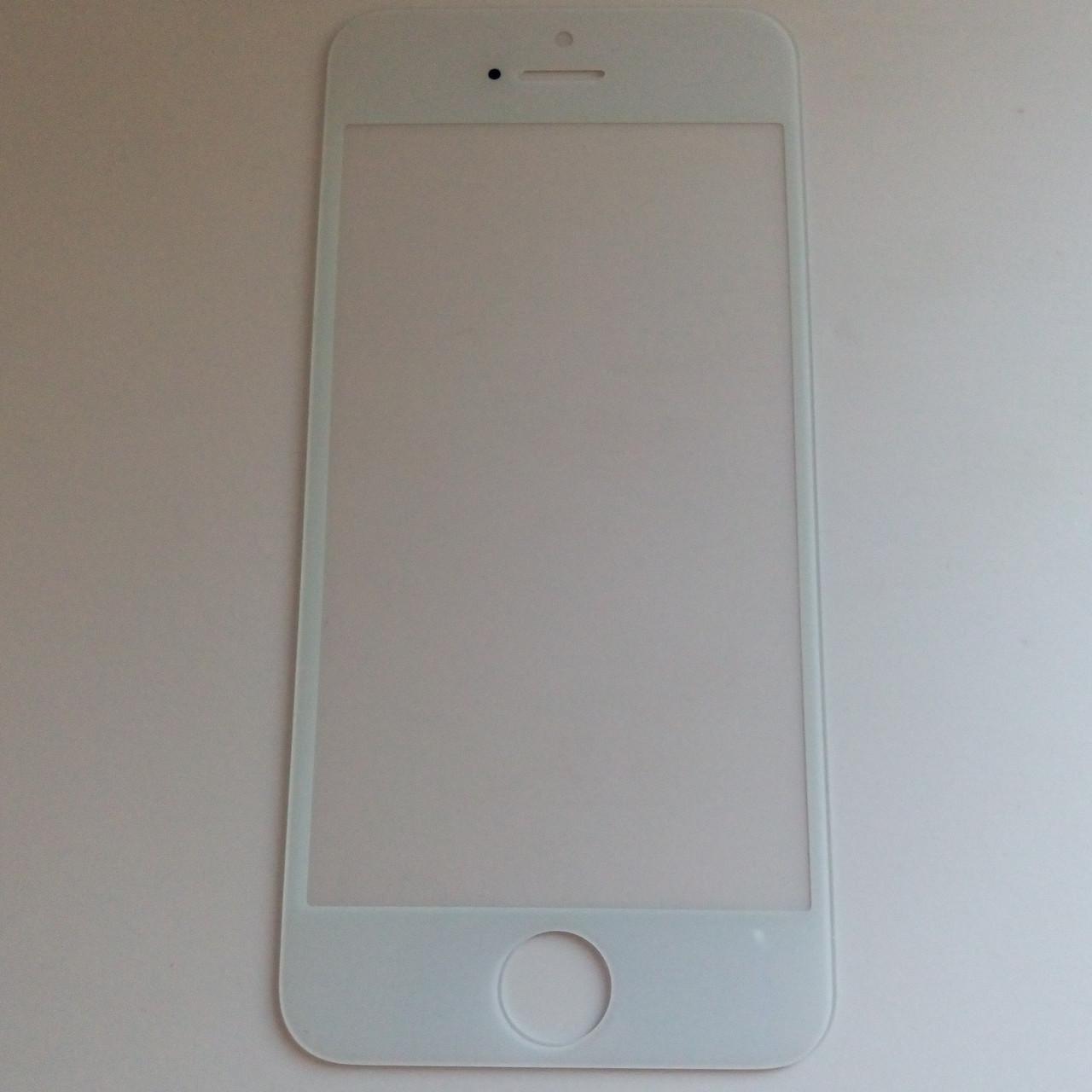 Стекло корпуса для Apple iPhone 5,5c,5s white