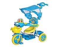 Трехколесный велосипед, музыкальный руль (8023)