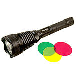 Подствольный фонарь POLICE BL-Q2800 T6 150000W + 3 светофильтра фонарик 1180 Lumen Фонарь ручной мощный, фото 2