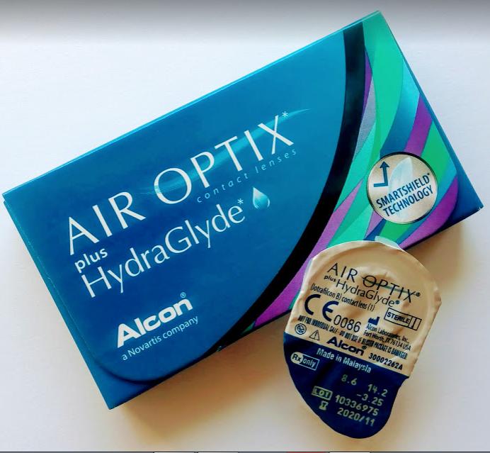 Контактні лінзи Alcon, Air Optix plus HydraGlyde  (Ейр Оптікс Гідраглайд)