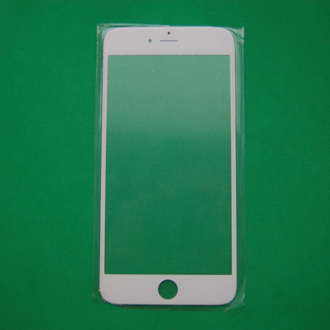 Стекло корпуса для Apple iphone 6 Plus white
