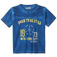 Футболка для мальчика  3pommes 3d10075 голубая 98-110