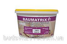 Краска латексная для потолка и стен Baumatrix Mattlatex 7 кг